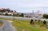 BERT JOHNSON - Chevron's Richmond refinery.