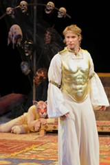 KEVIN BERNE - Christopher Kelly as Pericles.