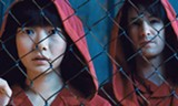 Cloud Atlas' most compelling narrative centers on Sonmi-451 (Doona Bae) and Hae-joo Chang (Jim Sturgess).