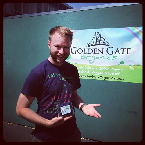 Corey Tufts, co-founder of Golden Gate Organics