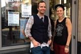 COURTESY OF AWAKEN CAFE - Cortt Dunlap and Sarah Sexton.