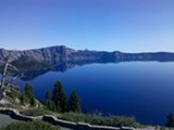 ANNE FARRIS ROSEN - Crater Lake is the world's clearest large body of water.