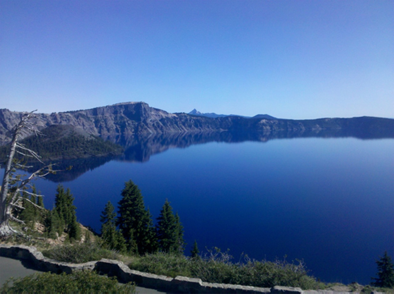 Click To Enlarge Anne Farris Rosen  Crater Lake Is The World's Clearest  Large Body Of Water