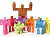 COURTESY OF RUBY'S GARDEN - Cubebots are popular among kids and adults.