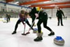"Curling, played at the Oakland Ice Center, is also known as ""chess on ice."""