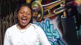 RAYMOND VAN TASSEL - Destiny Muhammad started playing harp at age thirty.