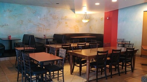 Dining room at Crossburgers (via Facebook)