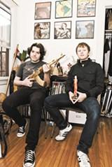 CONOR COLLINS - Disco Shawn (left) and Oro11.