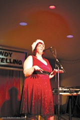 "SHILO MCCABE - Dixie De La Tour started Bawdy Storytelling as a private ""pervert coffee klatch."""