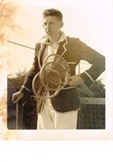 COURTESY OF JEFF BUDGE - Don Budge believed his slight size aided his growth as a tennis player.