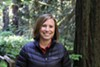 Emily Burns noted that redwood forests play a key role in combating climate change.