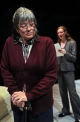 DAVID ALLEN - Emma's Marxist grandmother Vera (Ellen Ratner) shows the contractions that exist even in lefty families.