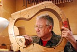 BOB FROST - Ervin Somogyi began making guitars after reading the book Classical Guitar Construction by Irving Sloane.