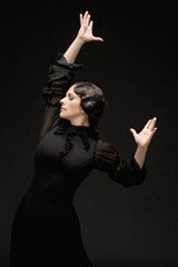 JOSE LUIS ALVAREZ - Eva Yerbabuena will burn up the stage with Ballet Flamenco at Cal Performances on March 12.