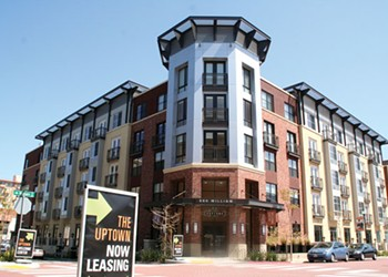 The Uptown Apartments Look Nice, But Are Still Mostly Empty