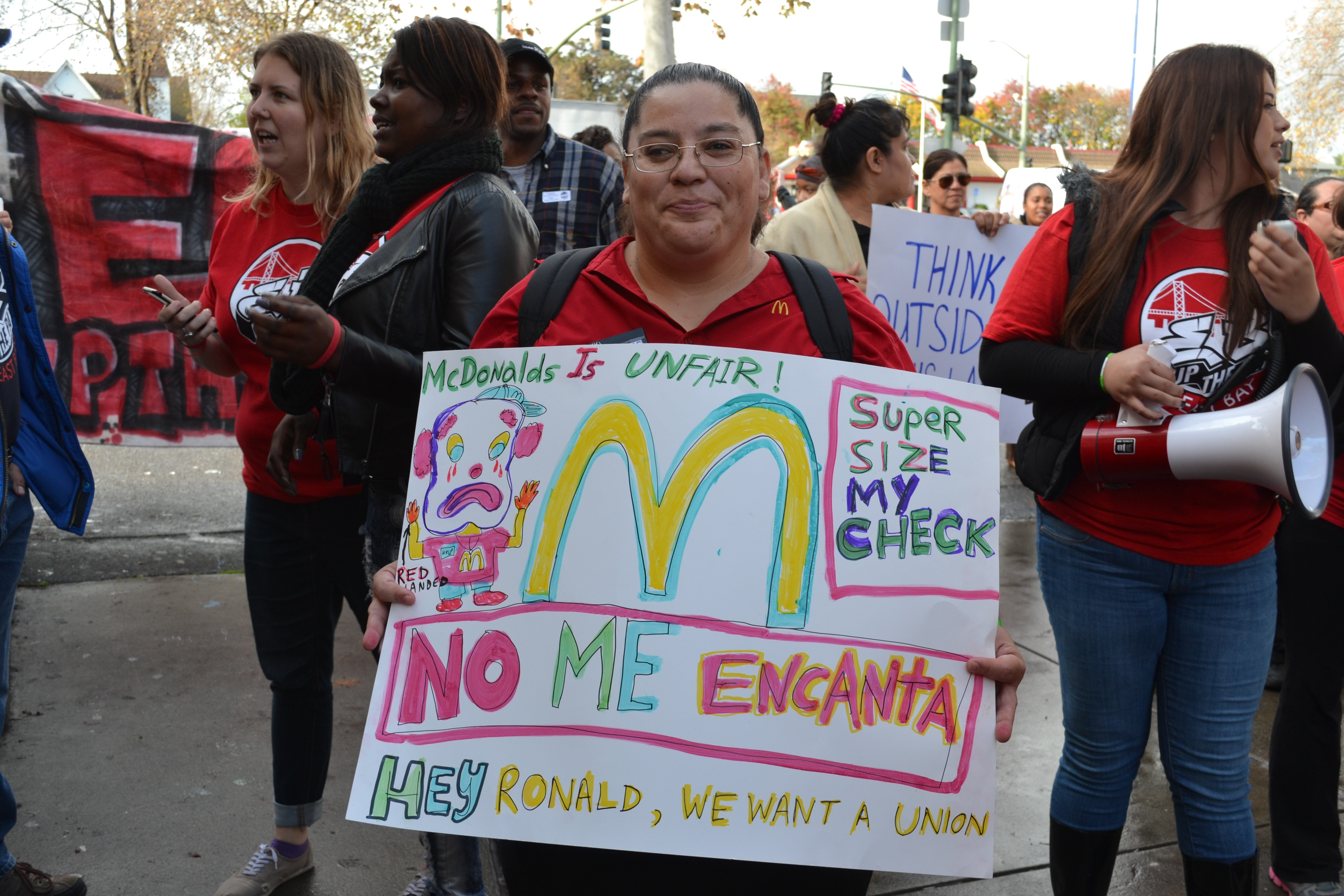 Fast-Food Workers Strike in Oakland, Again | East Bay Express