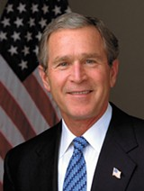 Former President Bush wants to buy the A's.