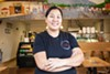 Francy Roungreuang's Lao background influences the Latin fusion cuisine at Cafe Talavera.