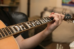 Frank Portman's guitar, named for his alter ego. - BERT JOHNSON