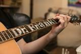 FILE PHOTO/BERT JOHNSON - Frank Portman's guitar, named for his alter ego.
