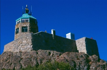 Mount Diablo State Park summit museum.