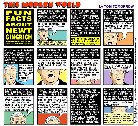 Fun Facts About Newt Gingrich