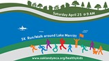 Fun Run/Walk around Lake Merritt. Meet at the Historic Bandstand, Lakeside Park, Bellevue Ave., Oakland