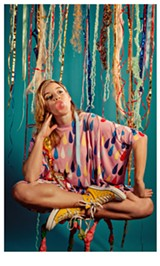 HOLLY ANDRES - Garbus said there is a darkness lurking beneath her seemingly childish imagery.