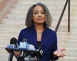 Marie Gilmore concedes mayor's race. - STEVEN TAVARES