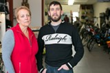 BERT JOHNSON - Glenda Barnhart and Clay Wagers lost 46 bikes to theft on October 26.