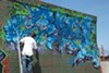 Gompers High School students in Richmond are repainting their mural.