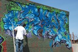 SCOTT J. MORRIS - Gompers High School students in Richmond are repainting their mural.