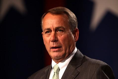 GOP House Speaker John Boehner