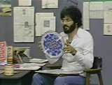 "PHOTO COURTESY HENRY S. ROSENTHAL - Guest Charles Amirkhanian on ""FILES: Things Kept and Why"", 1976"