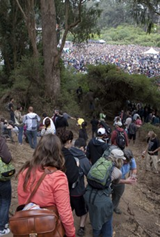 Hardly Strictly Bluegrass Fest on Saturday and Sunday, October 2-3, 2010, in Golden Gate Park, San Francisco.