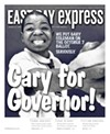 The cover of the East Bay Express on August 3, 2003