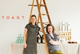 STEPHEN LOEWINSOHN - Heather Sittig and Kristen Policy used Kickstarter to raise more than $15,000 to open their wine bar, Toast.
