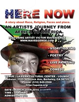 "VICTOR MAVEDZENGE - ""Here Now"" An artisats journey from Zimbabwe to America. A story of race, place and religion."