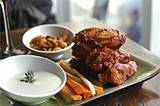 ALEXIS TJIAN - Hot wings and sides.