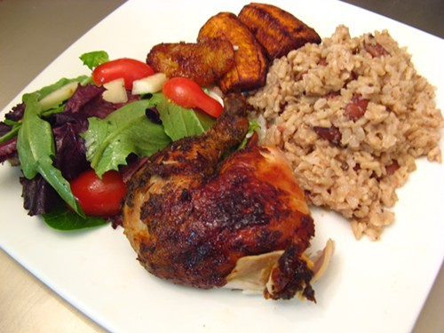 How does that jerk chicken look?
