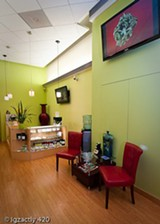 Igzactly 420 offers an upscale experience.