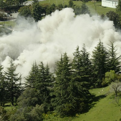 Imploding Oak Knoll