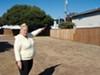 In 2008, workers in Hazmat suits dug up the area behind Margaret Billsborough's then home.