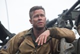 In Fury, Brad Pitt plays things slightly more realistically than in his last WWII film.
