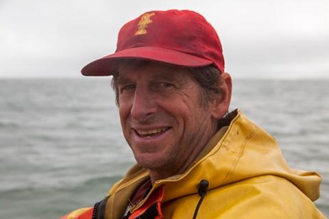 Marc Alley, a veteran crab fisherman.