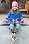 """In the words of Minna Stess, """"Just go skate, and have fun."""""""