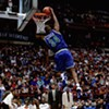 "Isaiah ""J.R."" Rider stunned the crowd with his dunking prowess at the 1994 NBA All-Star fest."