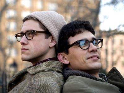James Franco as Ginsberg in Howl with Aaron Tviet