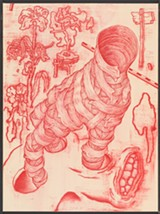 """COURTESY OF THE ARTIST - James Jean's """"Bowler (Vessel)."""""""