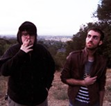 """James Laurence and Dylan Reznick write instrumentals known as """"cloud rap."""""""